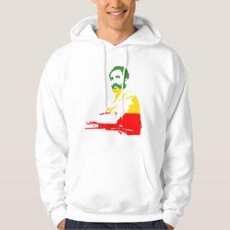 Haile Selassie hoody sweatshirt