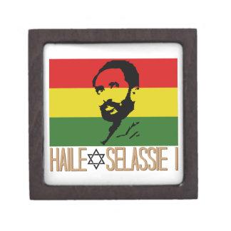 Haile Selassie I Caja De Recuerdo De Calidad