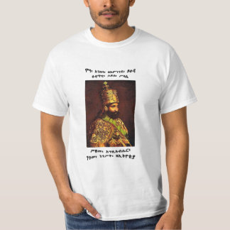 Haile Selassie I, Elect Of God, King Of Kings T-Shirt