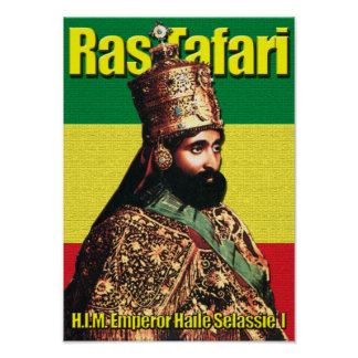 Haile Selassie I  Emperor of Ethiopia, Ras Tafari Poster