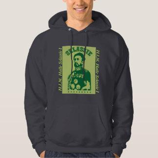 Haile Selassie I H.I.M. Hooded Pullovers