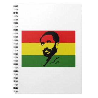 Haile Selassie I Libros De Apuntes Con Espiral