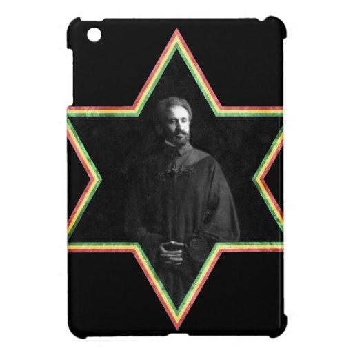 Haile Selassie Star of David iPad Mini Cases