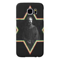 Haile Selassie Star of David Samsung Galaxy S6 Case