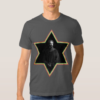 Haile Selassie Star of David T Shirts