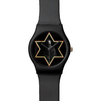 Haile Selassie Star of David Wristwatch