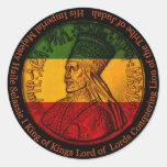 Haile Selassie Sticker