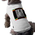 Haile Selassie the Lion of Judah, Jah Rastafari Dog Shirt