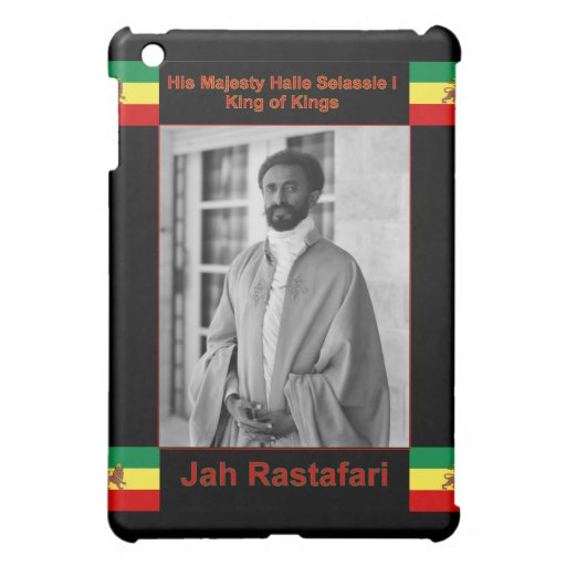 Haile Selassie the Lion of Judah, Jah Rastafari iPad Mini Cover
