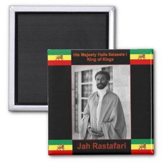 Haile Selassie the Lion of Judah, Jah Rastafari Magnet