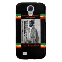 Haile Selassie the Lion of Judah, Jah Rastafari Samsung S4 Case