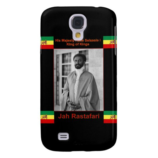 Haile Selassie the Lion of Judah, Jah Rastafari Samsung S4 Case