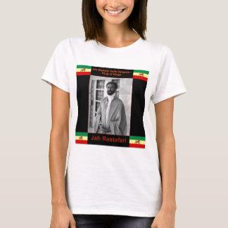 Haile Selassie the Lion of Judah, Jah Rastafari T-Shirt