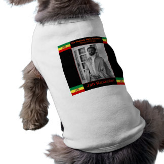 Haile Selassie the Lion of Judah, Jah Rastafari T-Shirt
