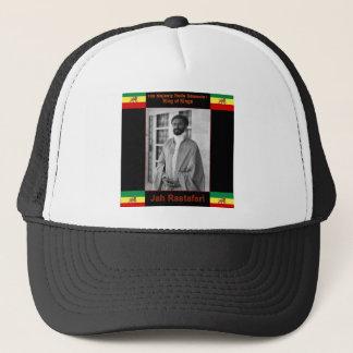 Haile Selassie the Lion of Judah, Jah Rastafari Trucker Hat
