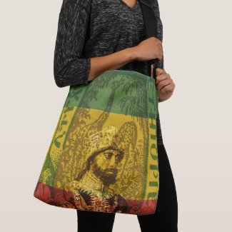 Haile Selassie Tote cross body bag