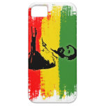Haile Selassie with Ethiopian Flag iPhone 5 Cover