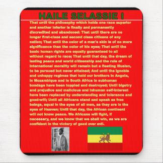 Haile Selassie's War Speech to UN 1963 - Marley So Mouse Pad