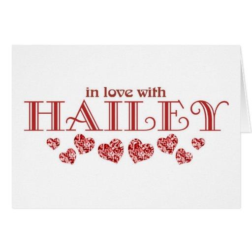 Hailey2 Tarjeta De Felicitación
