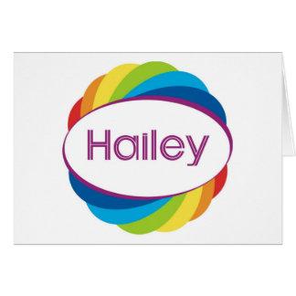Hailey Card