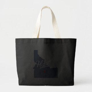 Hailey Idaho ID Shirt Canvas Bags