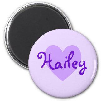 Hailey in Purple Refrigerator Magnet