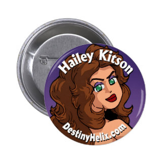 "Hailey Kitson ""Looking Back"" Button"