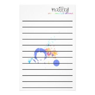 Hailey's Music Stationary Stationery