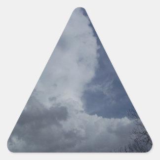 Hailmaker Cumulonimbus Cloud Triangle Sticker