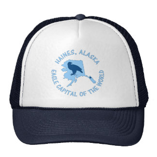 Haines, Alaska Eagle Capital of the World Trucker Hat