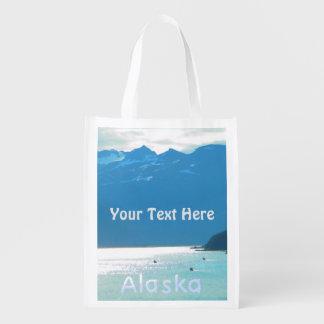 Haines, azul de Alaska Bolsa Reutilizable