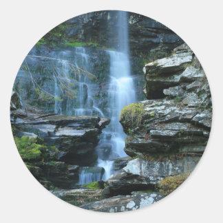 Haines Falls Classic Round Sticker
