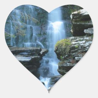 Haines Falls Heart Sticker