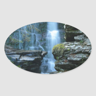 Haines Falls Oval Sticker