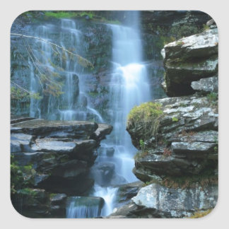Haines Falls Square Sticker
