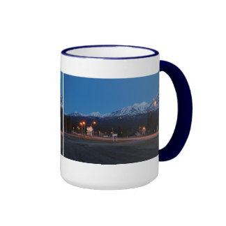 Haines Junction for the blue hour of 444 ml cup