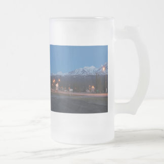 Haines Junction for the blue hour of 473 ml cup