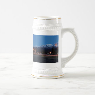 Haines Junction to the blue hour Beer Stein