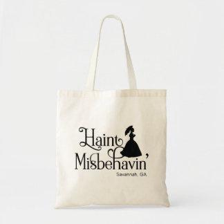 Haint Misbehavin' Tote Bag
