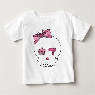 Hair Accessory Skull (Bow Detail) Baby T-Shirt