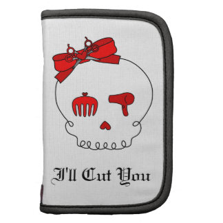 Hair Accessory Skull (Bow Detail - Red) Organizers