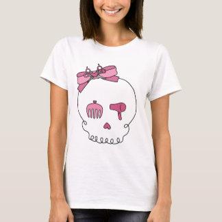 Hair Accessory Skull (Bow Detail) T-Shirt