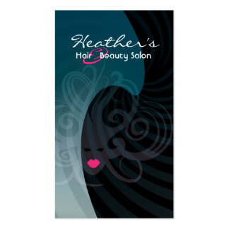 hair and beauty salon Double-Sided standard business cards (Pack of 100)