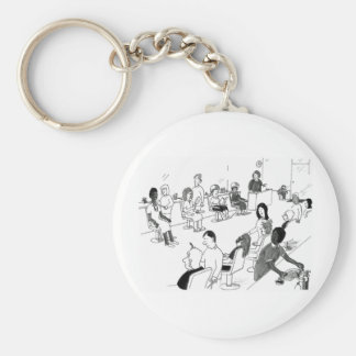 Hair and Beauty Stylist Customers Key Chains