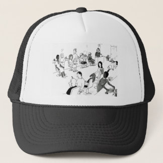 Hair and Beauty Stylist Customers Trucker Hat