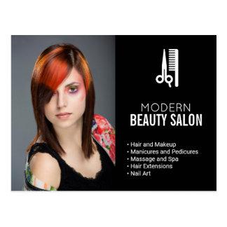 Hair and Makeup Beauty Salon Marketing Direct Mail Postcard