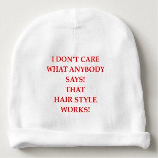 hair baby beanie