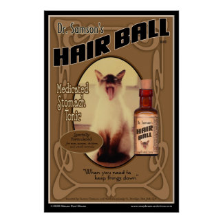 Hair Ball Tonic poster