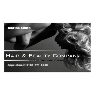 Hair & Beauty Salon [fully customizable] Double-Sided Standard Business Cards (Pack Of 100)