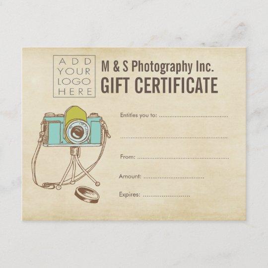 vintage store boutique gift card template zazzle com
